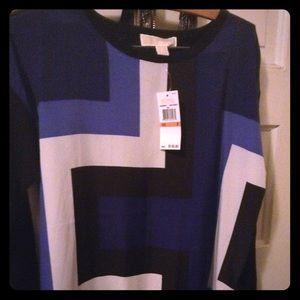 Michael Stars Sz S NWT Sweater - black Color block